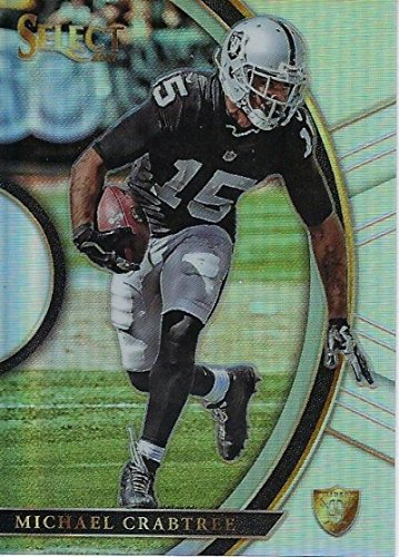 Amazon.com  2017 Panini Select Silver Prizm  78 Michael Crabtree Oakland  Raiders Concourse  Collectibles   Fine Art bd673ab0b