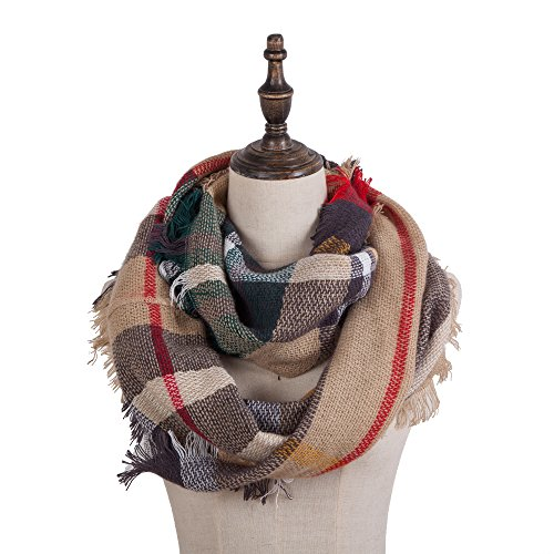 Womens Lightweight Scarf Infinity Scarves