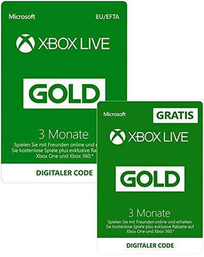 [amazon.de] 6 Monate Xbox Live Gold um 19,99€