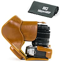 MegaGear Ever Ready Protective Leather Camera Case, Bag for Fujifilm X-T20, Fujifilm X-T10 |16-50mm / 18-55mm Lenses|