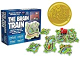 The Brain Train - World's First Mathematical Railway. 2018 Award Winner. Use math, logic, cognitive skills for simple equations & connect train tracks. Correct answers let the train run the track!