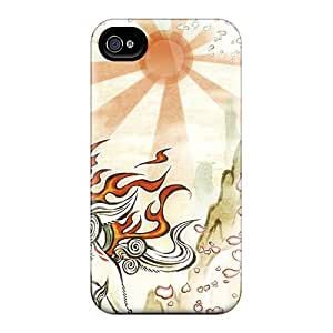For KHQ2244suhJ Okami Hd Protective Case Cover Skin/iphone 4/4s Case Cover