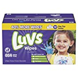 Health & Personal Care : Luvs Ultra Clean Wipes 3x Refills, 864 Count