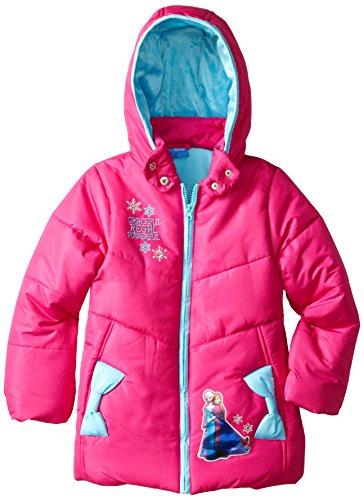 41e6a9c900bd Disney Frozen Girls' Elsa and Anna Jacket - Import It All