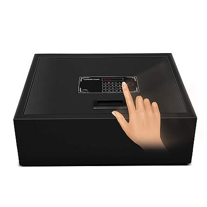 Convencionales Caja de Seguridad electrónica para el hogar con Caja de Seguridad Mediana en el cajón