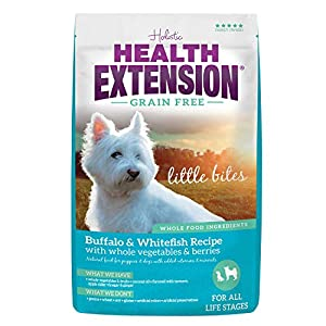 Health Extension Grain Free Buffalo & Whitefish Recipe Little Bites 28