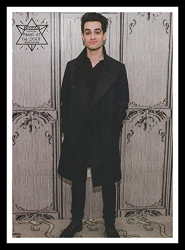 Framed A4 Original Music Magazine Advert Picture Panic! at the Disco Brendon -