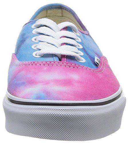 Vans U Authentic - Zapatillas unisex Rosa - (tie dye) pink/blue