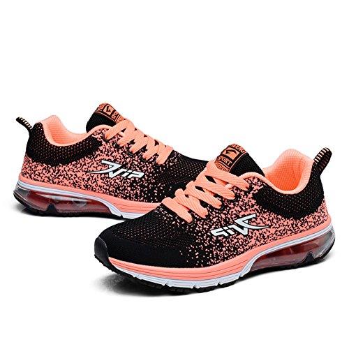 Leichtes Orange Sportschuhe Sneakers Schuhe Profilsohle Air TORISKY Damen Herren Laufschuhe Turnschuhe v7XOXx