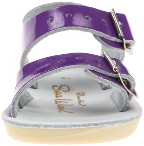 Little Wees Sea Hoy Toddler Women's Salt Big Kid Shoe Shiny Kid by Sandals Water Purple Sandal wTqnxpSaR