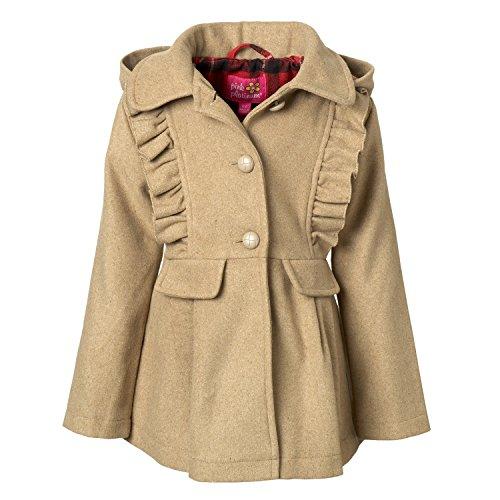 Floral Wool Coat - 1