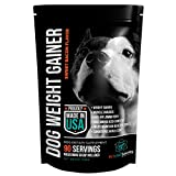 PET CARE Sciences New Weight Gainer for Dogs | Injury Recovery | Muscle and Agility Dogs with Multi Benefits | Made in The USA | Sweet Bacon Flavor