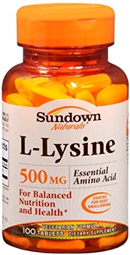 Sundown L Lysine 500 mg Tablets 100 Tablets
