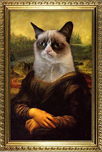 AllPosters Grumpy Cat Mona Lisa Poster Print