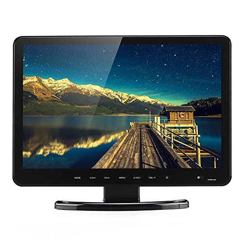 Portable 15.6 Inch Monitor + DVD Player - HDMI + VGA port, H