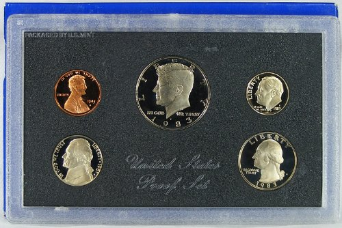 1983 U.S. Proof Set in Original Government Packaging from Proof Sets