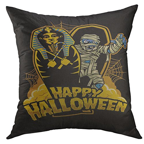 Mugod Decorative Throw Pillow Cover for Couch Sofa,Coffin