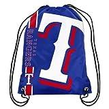 MLB Texas Rangersbig Logo Drawstring Backpack, Texas Rangers, One Size