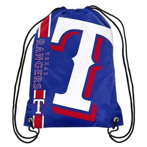 FOCO Texas Rangers Big Logo Drawstring Backpack (Rangers Bag Texas)