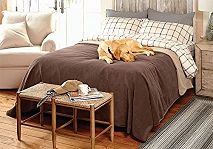 Exceptional Orvis Ultralight Dog Proof Fleece Coverlet/Only King, King