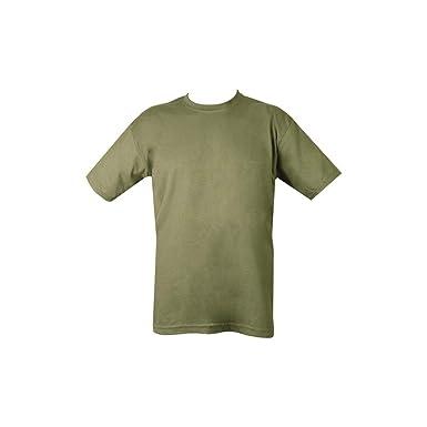 Mens Plain Military Army T-shirt 100% Cotton (Medium 36f4f549840