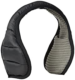 180s Unisex Puffer Quilted Down Water Resistant Ear Warmers
