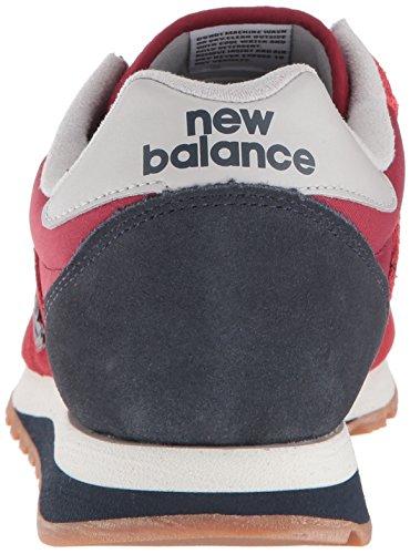 Nubuck Homme New Scarlet en Bleu 520 Balance Baskets Daim 5ZHp0qZ
