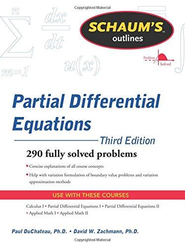Schaum's Outline of Partial Differential Equations (Schaum's Outlines)