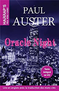 "Afficher ""Oracle night"""