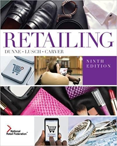 Amazon retailing 9781305511101 patrick m dunne robert f retailing 9th edition fandeluxe Choice Image