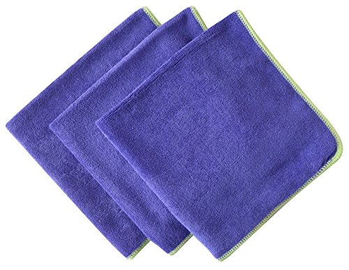 Generic 3 Pack Microfiber Cleaning Cloths Soft Kitchen Dish Towels by Generic
