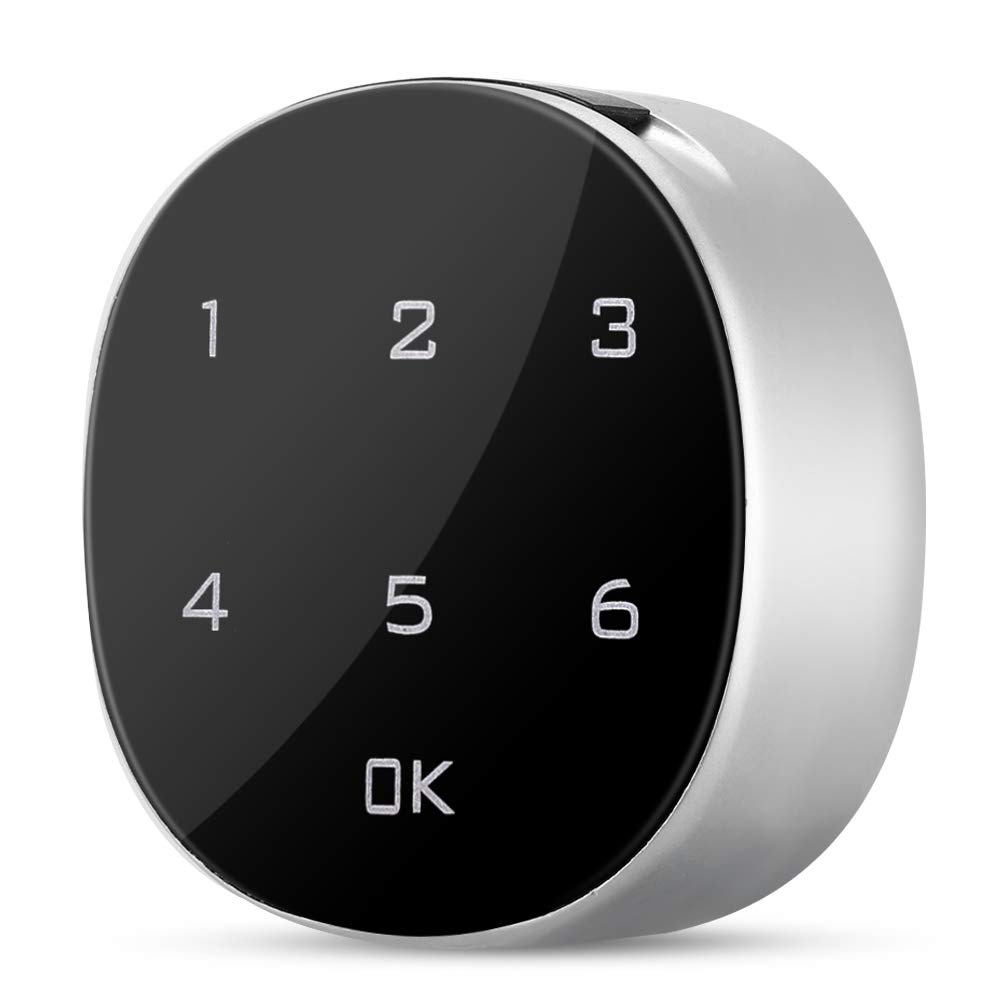 30mm Suchinm Electronic Cabinet Lock Touch Screen Electronic Combination Lock Password for Office File Cabinet Locker Mail Box