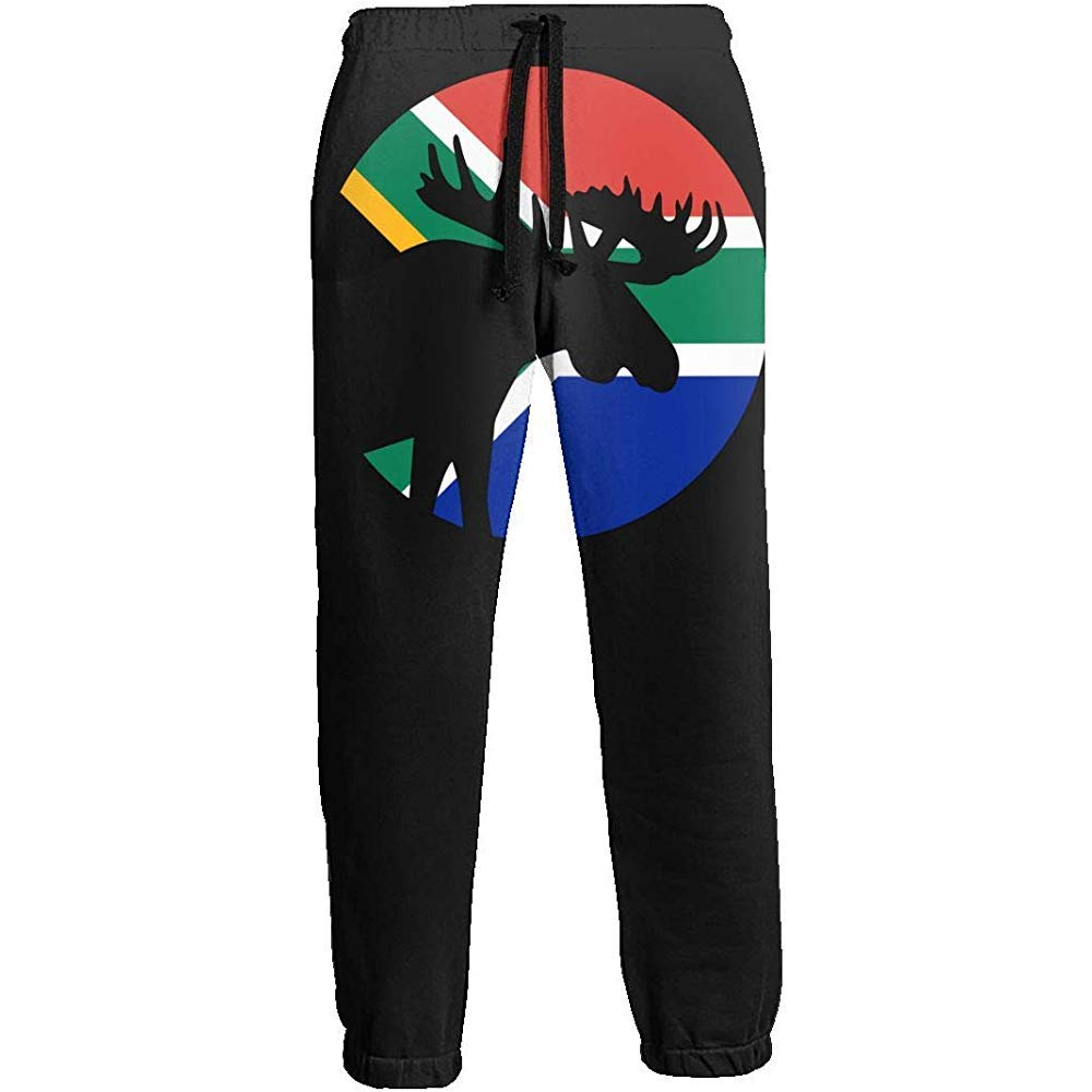 Bandera sudafricana Moose Moon Pantalón de chándal Largo para ...