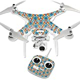 MightySkins Protective Vinyl Skin Decal for DJI Phantom 3 Standard Quadcopter Drone wrap cover sticker skins Sunset Flowers