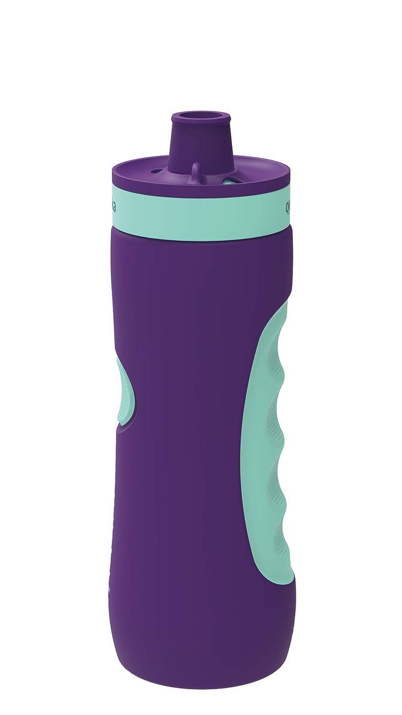 Botella de Agua Reutilizable Quokka Sweat Aqua Violet 680 ML LDPE  