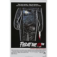 Friday The 13Th Movie Poster 11x17 Master Print