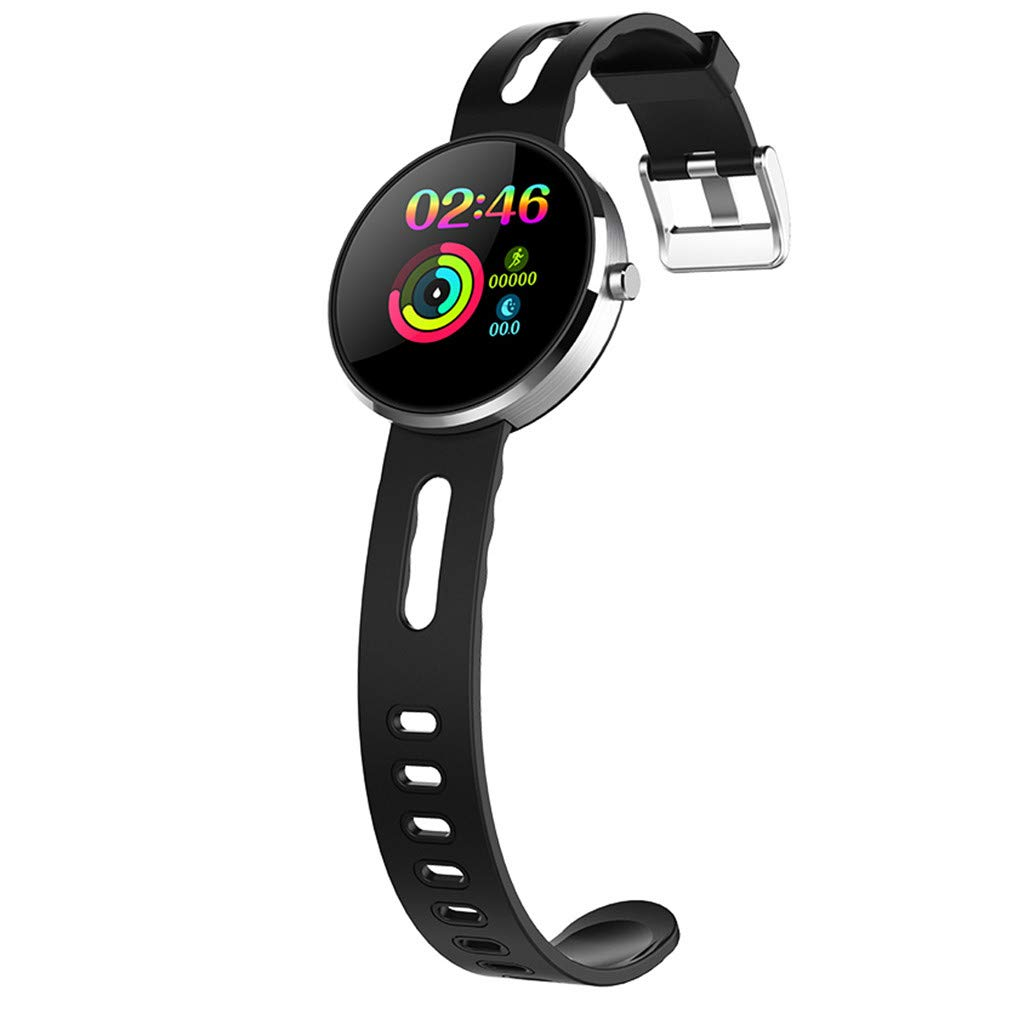 YNAA for Android iOS, Sport Smart Watch, Fitness Calorie Heart Rate Monitoring Physiological Cycle Reminder Smart Bracelet (A) by YNAA (Image #4)