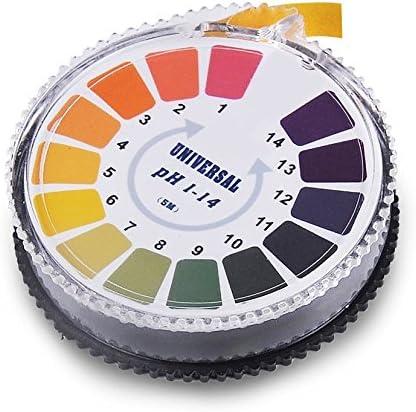 1 Bandes de papier de test pH universelles pour mesurer le pH 1 plage compl/ète 0-14