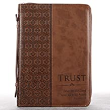 Trust In the Lord in Brown Proverbs: 3:5 Bible Cover