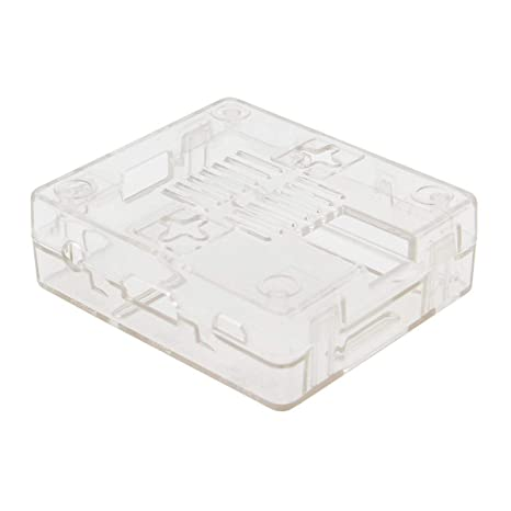 Carcasa ABS Color Negro y Transparente para Placa Base Raspberry Pi Modelo 3 A+(Plus) Negro: Amazon.es: Electrónica
