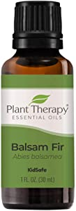 Plant Therapy Balsam Fir Essential Oil 30 mL (1 oz) 100% Pure, Undiluted, Therapeutic Grade