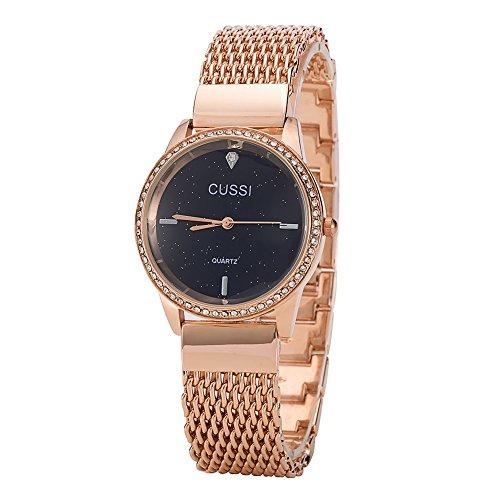 Ladies-Star-Mesh-Bracelet-Dress-Wrist-Watch-for-Women-Female-Gold-Rose-Gold-Silver