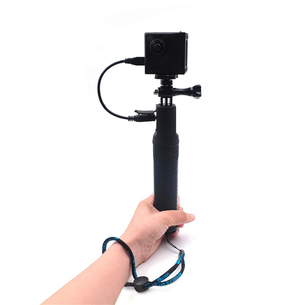 Selfie Stick,for Insta 360 ONE X /DJ OSMO Action 4K Camera Power Handheld Selfie Stick Charger,Camera Mount/Stand,Camera Holder,5200mAh high Capacity by OUBAO (Image #6)