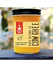 Nutty Yogi Pure Bilona A2 Cow Ghee | 250 ml | 100% Natural & Organic Ghee l Vedic Ghee Builds Immunity I Pure Ghee Handmade in small batches I Authentic Aroma & Nutrition l