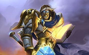 Infinite Arts Hearthstone Heroes of Warcraft 23inch x 14inch//57cm x 35cm A93DE6 Silk Printing Silk Print Poster