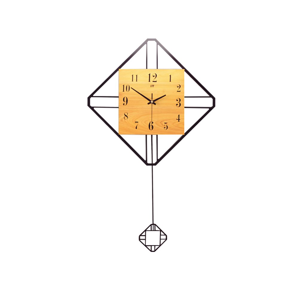 リビングルームダイニングルーム時計シンプルなスイングクォーツ時計41 * 70cm B07FMWXSGF