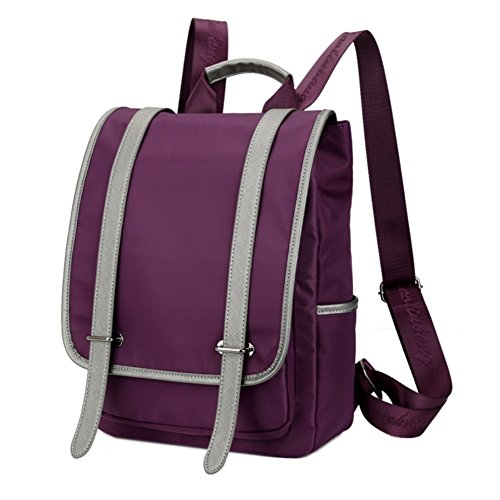 JOYSKY HB440117C3 Spring Nylon Leisure Unisex-Adult Handbag,Vertical Square Backpack -