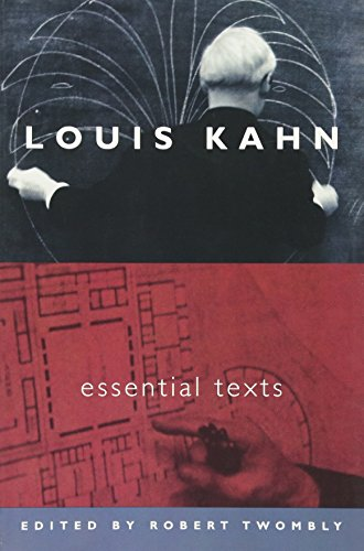 Pdf Engineering Louis Kahn: Essential Texts