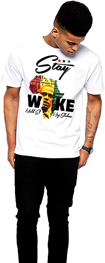 Afrocentric Black History Month Short-Sleeve Unisex T-Shirt Black First Marcus Garvey Shirt