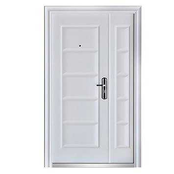 Haustur Tur Sicherheitstur Wohnungstur Eingangstur 120 X 205 Cm Weiss